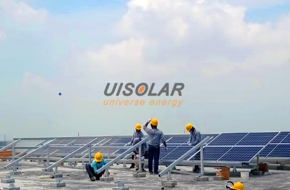 UISOLAR Provides Solar Racking for Roof Project in Bengal